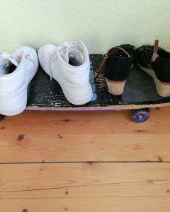 Die Upcycler_Garderobe Skater