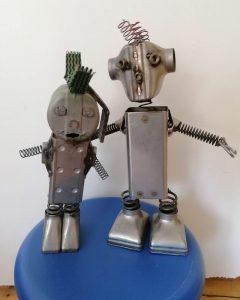 Die Upcycler_Ro-Bert und Ro-nja
